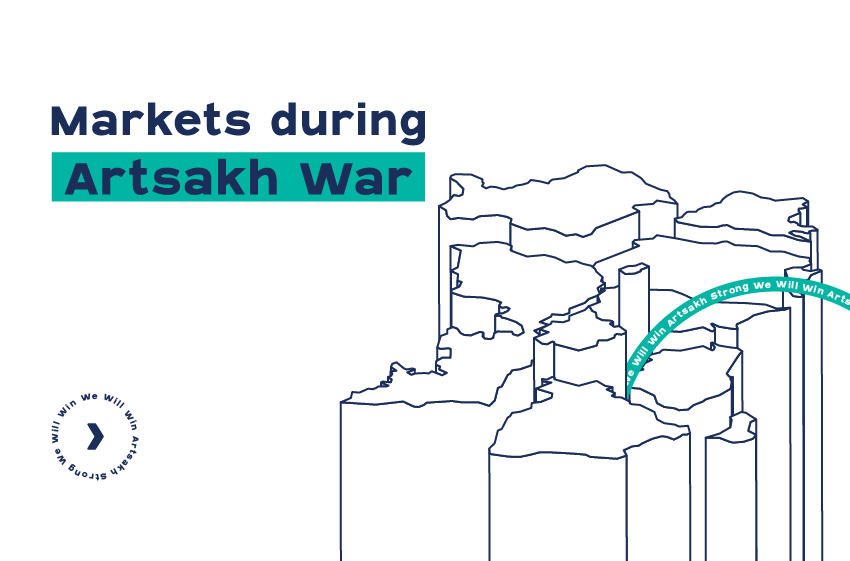 Capital Markets of Armenia and Azerbaijan during the 2 weeks of Artsakh War in 2020